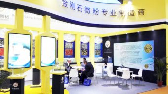 Sino-Crystal Micro-Diamond attend the Ceramics China 2015 in Guangzhou.